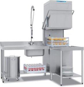 Gisi HC382 TDE Haubenspülmaschine mit Integriertem Enthärder